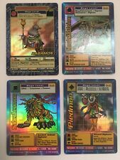 Digimon Digi-battle Card Lot Holo Mega Babamon Herculeskabuterimon Piedmon Saber