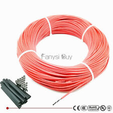 3K6K12K24K36K48K Teflon Jacket Carbon Fiber Heating Cable underfloor  wire