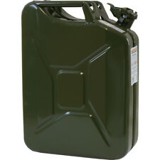 Benzinkanister Metall 20 L NEU Stahlblech-Kanister Armeekanister GRÜN 20 Liter