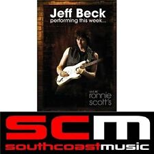 JEFF BECK Performing this Week Live at Ronnie Scotts MUSIC GIG PERFORMANCE DVD