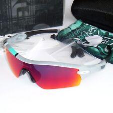 Oakley Radar Path Sunglasses - Polished Fog/+Red Iridium Lens  26-266J-Asian Fit
