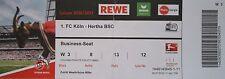 VIP TICKET Business BL 2016/17 1. FC Köln - Hertha BSC
