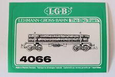 LGB 4066Langholzwagen