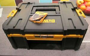 Dwalt T Stack Deep Drawer Toolbox Black excellent condition.