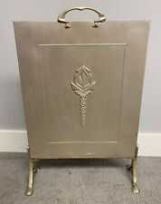 art deco FIREPLACE HEARTH SCREEN for restoration