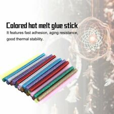 30pcs/pack Multi Color Glitter Hot Glue Sticks Non-toxic High Adhesive Sticks KW