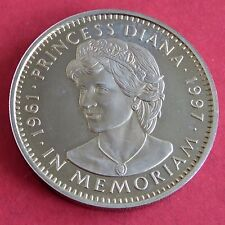 Liberia 1997 Princesa Diana In Memoriam Prooflike cinco dólares