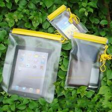 3Pcs Waterproof Camera Mobile Phone Pouch PVC Dry Bag Case for Kayak Boat Hiking