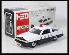 TOMICA APITA TOYOTA COROLLA LEVIN TE71 PATROL CAR 1/61 TOMY DIECAST CAR