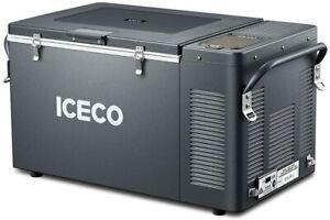 37Quart Portable Electric Car Cooler Outdoor Freezer Refrigerator Compressor
