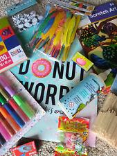 Bastel Set für Kinder Geschenkbox Geburtstage Weihnachten 3 bis 10 Jahre alt