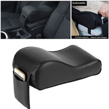 1× Car Universal Armrest Box Mats Console Pad Cushion Cover PU Leather Mat Liner
