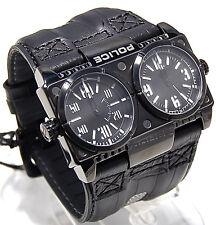 Police Herren Uhr DOMINATOR mit zwei Zeitzonen PL.12899XSB02 PL22