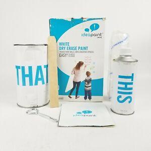 Idea Paint CreateCLEAR Dry Erase Paint Kit 100 Square Feet New SEE DESCRIPTION