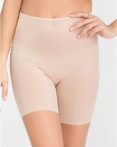 SPANX Skinny Britches® Mid-Thigh Short Naked 2.0 Size L Style #10008R