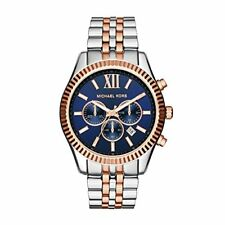 MICHAEL KORS LEXINGTON CHRONOGRAPH MENS WATCH MK8412 BLUE DIAL RRP £229.00