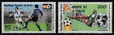 Benin postfris 1982 MNH 286-287 - WK Voetbal Italie '82 (p299)
