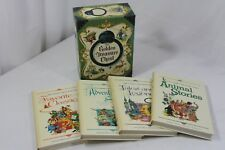 The Golden Treasure Chest Children Stories 4 Book Set Slipcase