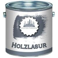 Lausitzer Farbwerke traditionelle Holzlasur Speziallasur 2,5L 5L 10L 20L Farblos