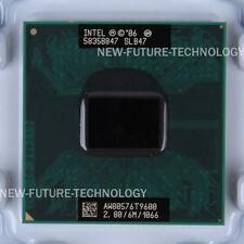Intel Core 2 Duo Mobile T9600 2.8 GHz Dual-Core 1066 MHz 478-pin CPU 100% tested