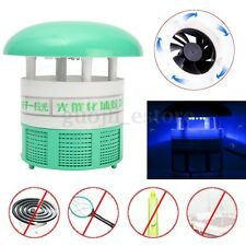 LED Electric Mosquito Fly Insect Repellent Killer Catcher Trap Lamp Light Zapper