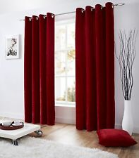 Velvet Lined Curtains, Eyelet Top,5 colours, Cushions, runners, door curtains