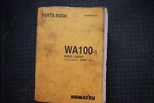 Komatsu WA100-1 Wheel Loader Parts Manual Book Shop catalog spare number 1994 OE