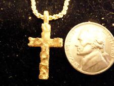 gold plated GOD cross crucifix FASHION pendant charm hip hop NECKLACE JEWELRY GP
