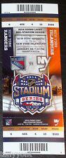 2014 NHL Stadium Series UNUSED Ticket Stub NY Rangers NY Islanders MINT New York