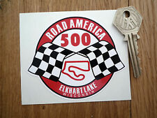 ROAD AMERICA 500 Elkhart Lake Classic Style Car Sticker 90mm Wisconsin Circuit