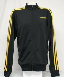 *NEW* Adidas Men's Essentials 3-Stripes Tricot Track Top Jacket