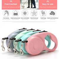 Automatic Retractable Dog Leash Pet Collar Heavy Duty Walking Lead Traction Rope