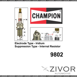 Promising Quality Champion Spark Plug-Set of 2 For NISSAN MPN-9802 *By Zivor*