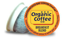 72 ct. Breakfast Blend Organic Coffee OneCup Keurig K-cup brewer