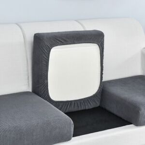 Sofa Seat Cushion Cover Cover Stretch Washable Removable Slipcover 1/2/3/4 Seat