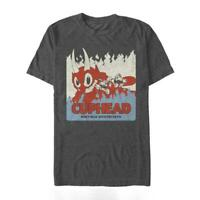 Cuphead Don't Deal With Devil Flames Brand New Officially Licensed Shirt