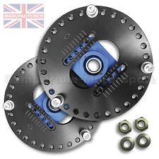 Ford Anglia 105E 2 piece Adjustable Eccentric Top Mounts CMB1366-2ADJ