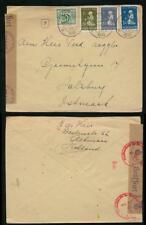 NETHERLANDS to AUSTRIA WW2 1940 THIRD REICH CENSOR CHARITY FRANKING