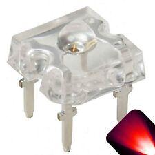 10 x LED 3mm Dome Superflux Red Piranha LEDs Sign Car Brake Lights Super Flux