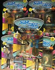 Lot of 5 1992/1993 Playmates STAR TREK: The Next Generation - New in Pack