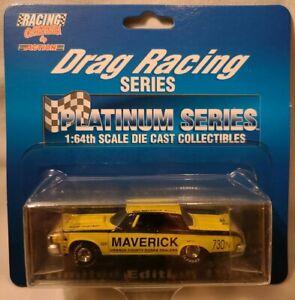 "1964 Dodge ""Maverick"" Platinum Drag Racing Series 1/64 Scale Die Cast"