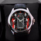 Audi Rs4 Watch G-Tron engine MENS N WOMAN LEATHER WATCH