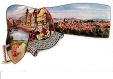 Lauterbach AK um 1910 Mehrbild Strumpfgedicht nackter Knabe Hessen 1501053