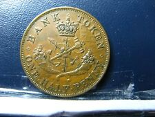PC-5B2 Halfpenny 1852 token Province of Upper Canada Bank Breton 720