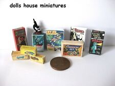 VINTAGE STYLE BOYS TOYS DOLLS HOUSE MINIATURES
