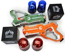 DYNASTY Laser Tag Toy  CAPTURE THE FLAG / 2x Guns Cubes 4x Lights FACTORY SEALED