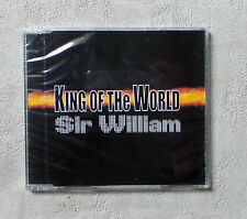 """CD AUDIO/ SIR WILLIAM """"KING OF THE WORLD"""" CD MAXI-SINGLE  1990 NEUF SS NEW CELLO"""