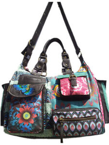 New Spanish Desigual women's Portable messenger bag