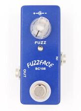 Mosky pedal fuzz face pedal FUZZ FACE Mini Guitar Effect Pedal BC108