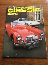 Vintage Magazine Thouroughbred & Classic Cars  Film Prop  Car Showroom Mar 1976